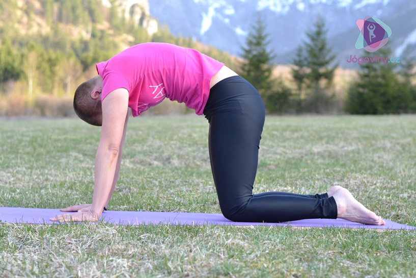 Zapojte břišní svaly