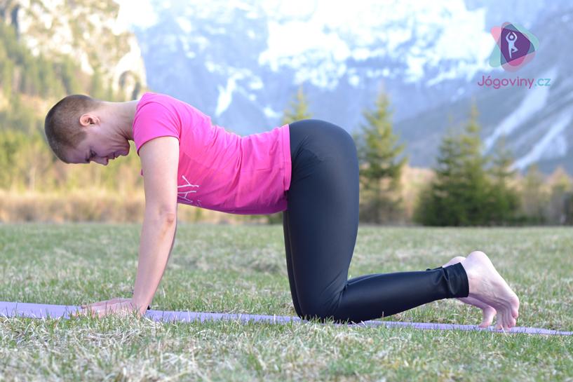 Povolte břišní svaly