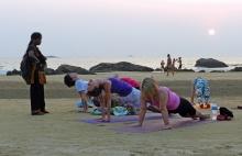 Indie, Gokarna, na pláži...