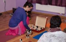 Jóga + účinky éterických olejů = aroma jóga