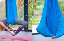 Aero jóga je cvičení ve vzduchu, relax i zábava