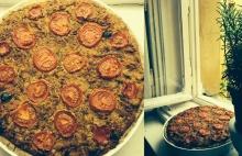 Slaný veganský quiche s rajčatovou náplní
