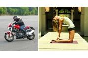 Jízda na motorce je pro mě meditací