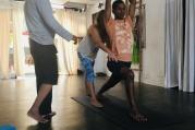 Asistence v pozicích, seminář nejen pro lektory jógy