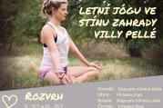 Letní jóga s Lucií ve Villa Pellé