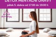 Workshop jógové terapie - detox mentální únavy