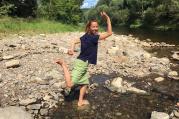 Víkend s jógou na Šumavě