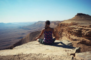 Novoroční jóga a putování po Izraeli