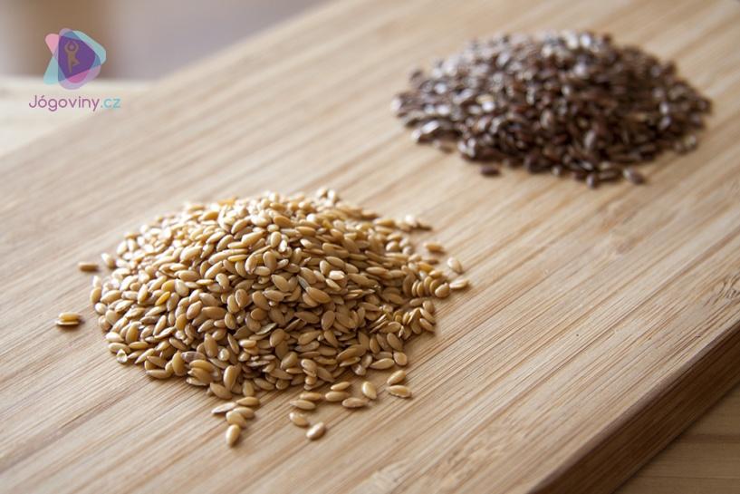 V obchodě seženete lněné semínko zlaté a hnědé, vyzkoušejte oba dva typy