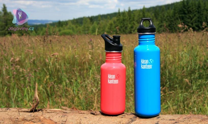 Nerezové lahve jsou zdravotně nezávadné a mají také dlouhou životnost