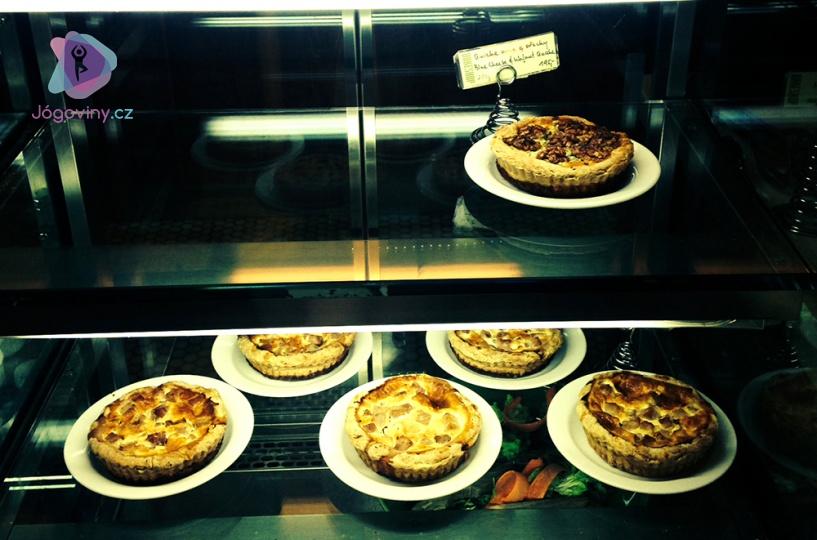 Slané koláče jsou většinou v nabídce stylových kaváren
