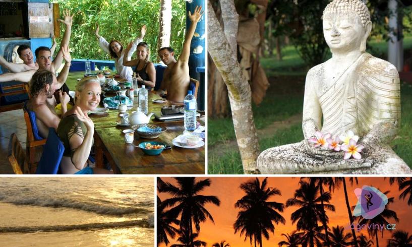 Jógový retreat na Srí Lance