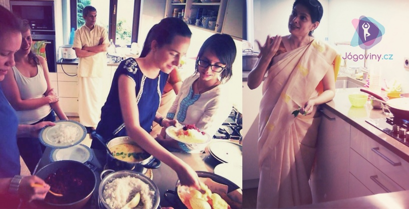 Workshop indického vaření s Hemou