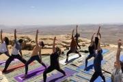 Květy pouště: Izrael a Palestina s jógou