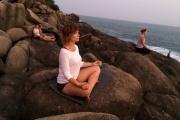 Jóga na rajském ostrově Srí Lanka