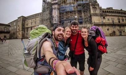 Moje cesta do Santiaga de Compostela